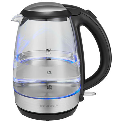 Insignia Electric Kettle - 1.7L - Glass