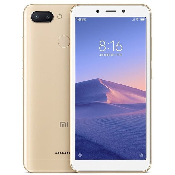 Xiaomi Redmi 6, Gold (64GB) / Unlocked - Unwired