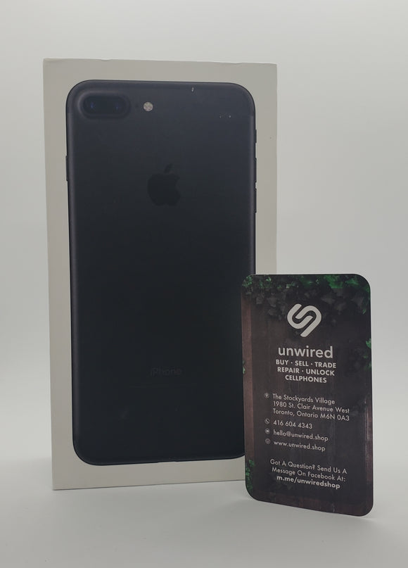 Apple iPhone 7 Plus, Black (32GB)
