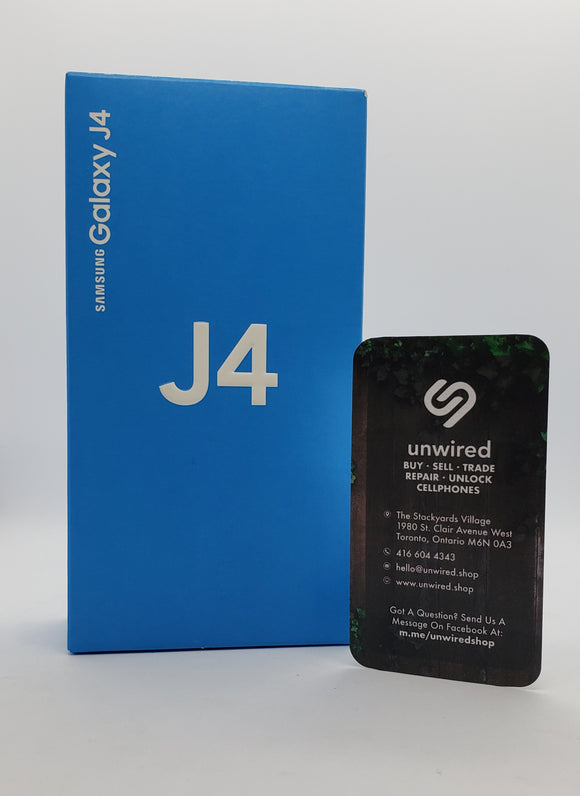 Samsung Galaxy J4, Black (32GB)