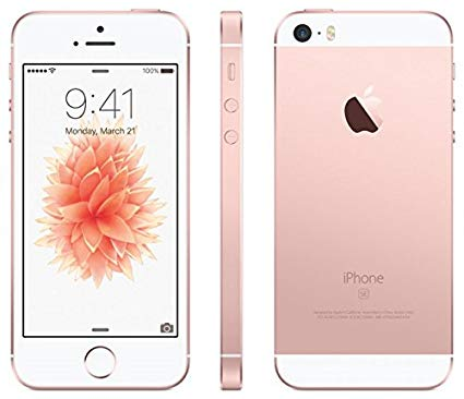 Apple iPhone SE, Rose Gold (64GB) / Unlocked