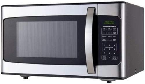 Hamilton Beach 1.1 Cu. Ft. 1000 Watt Microwave, Stainless Steel - Unwired Solutions Inc