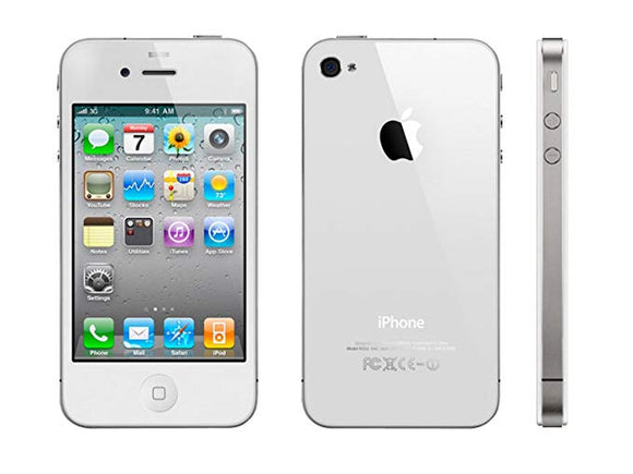 Used Apple iPhone 4, White (8GB) / Unlocked