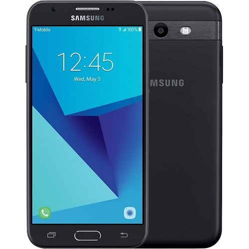 Used Samsung Galaxy J3 Prime (2017), Black (16GB) / Unlocked