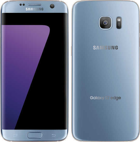 Samsung Galaxy S7 Edge. Baby Blue (32GB) / Unlocked / Open Box