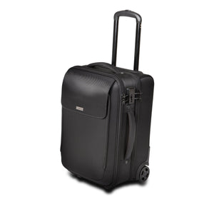 "SecureTrek Lockable Laptop Overnight Roller 17"" Black - Unwired"