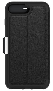 Strada Folio iPhone 7 Plus Onyx Black - Unwired