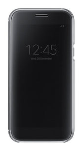 Clear View Cover Galaxy A5 -2017 Black - Unwired