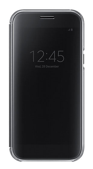 Clear View Cover Galaxy A5 -2017 Black - Unwired Solutions Inc