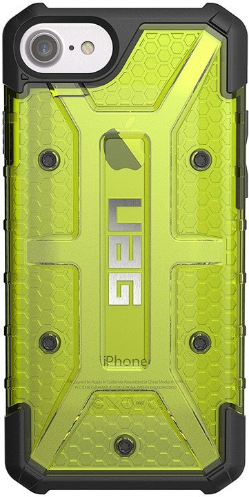 Plasma iPhone 8/7/6S/6 Yellow/Clear - Unwired Solutions Inc