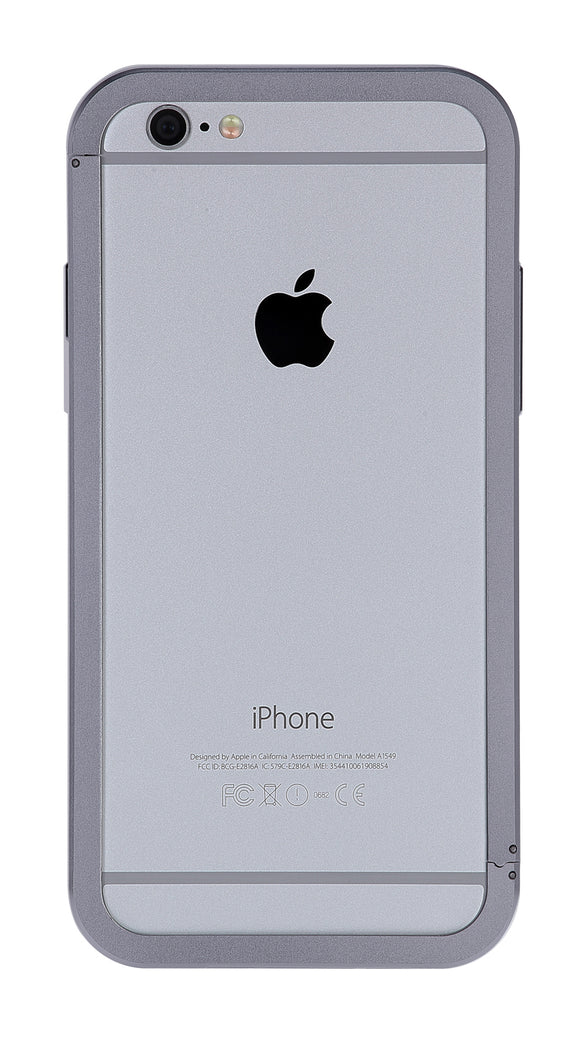 AluFrame iPhone 6/6S Grey - Unwired Solutions Inc