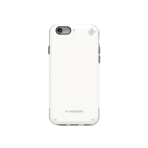 DualTek Pro iPhone 6/6S White/Clear - Unwired Solutions Inc