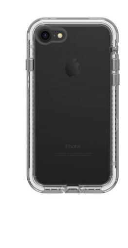 Next iPhone 8/7 Beach Pebble (Clear/Gray) - Unwired Solutions Inc