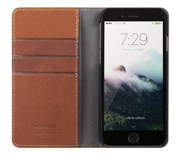 Leather Folio iPhone 8/7 - Unwired