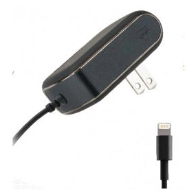 Lightning Wall Charger 1A Black - Unwired