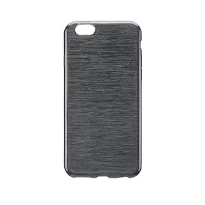 Brushed Gel Skin iPhone 6/6S Black - Unwired Solutions Inc