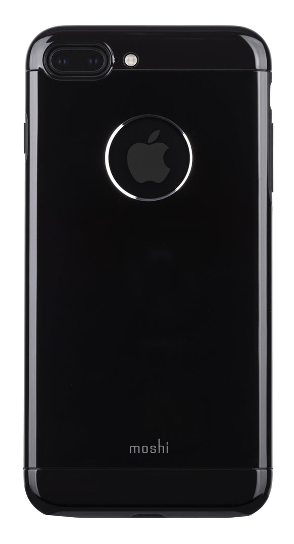 iGlaze Armour iPhone 8 Plus/7 Plus Jet Black - Unwired
