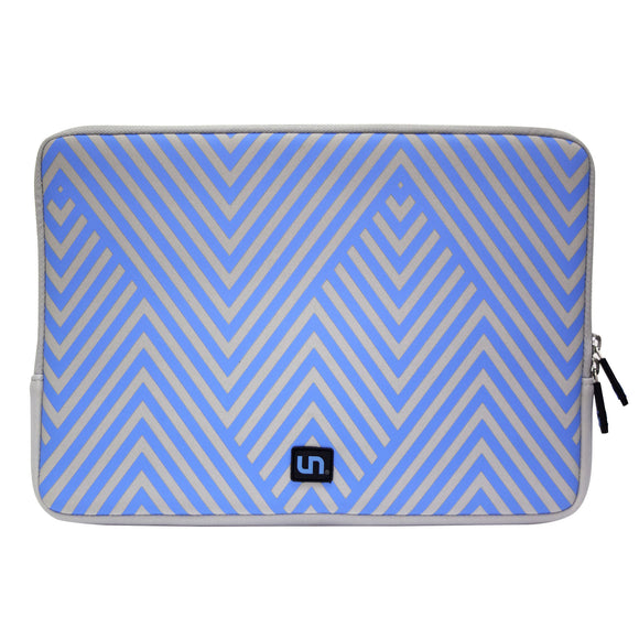 Neoprene Sleeve MacBook 15 inch Cool Lines Blue - Unwired