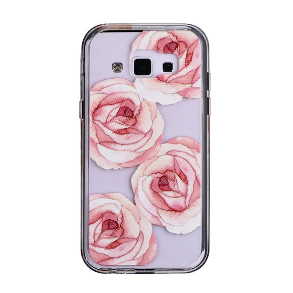 Mist Galaxy A5 (2017) Rosie Roses Glossy - Unwired