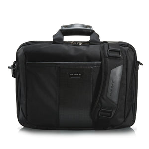 Versa Premium Laptop Bag/Briefcase 16in Black - Unwired