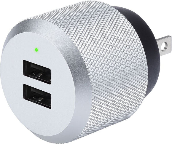 AluPlug Luxury Wall Charger Silver - Unwired
