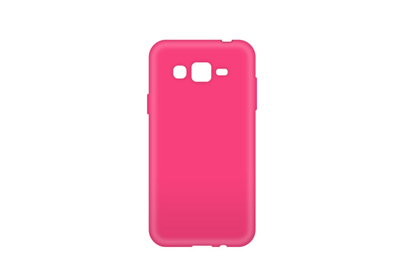 Solid Gel Skin Galaxy J3 Pink - Unwired Solutions Inc