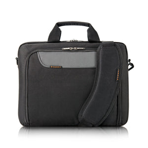 Advance Laptop Bag/Briefcase up to 14.1in Black - Unwired