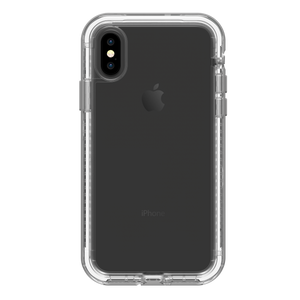 Next iPhone X Beach Pebble (Clear/Gray) - Unwired