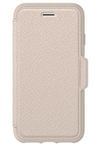 Strada Folio iPhone X Soft Opal (Beige) - Unwired