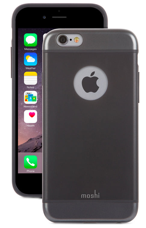 iGlaze iPhone 6/6S Black - Unwired Solutions Inc