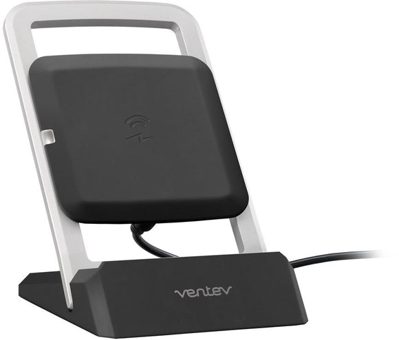 Wireless Qi Charge Stand Black - Unwired Solutions Inc