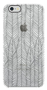 Deflector Gray Feathers iPhone 7 - Unwired Solutions Inc