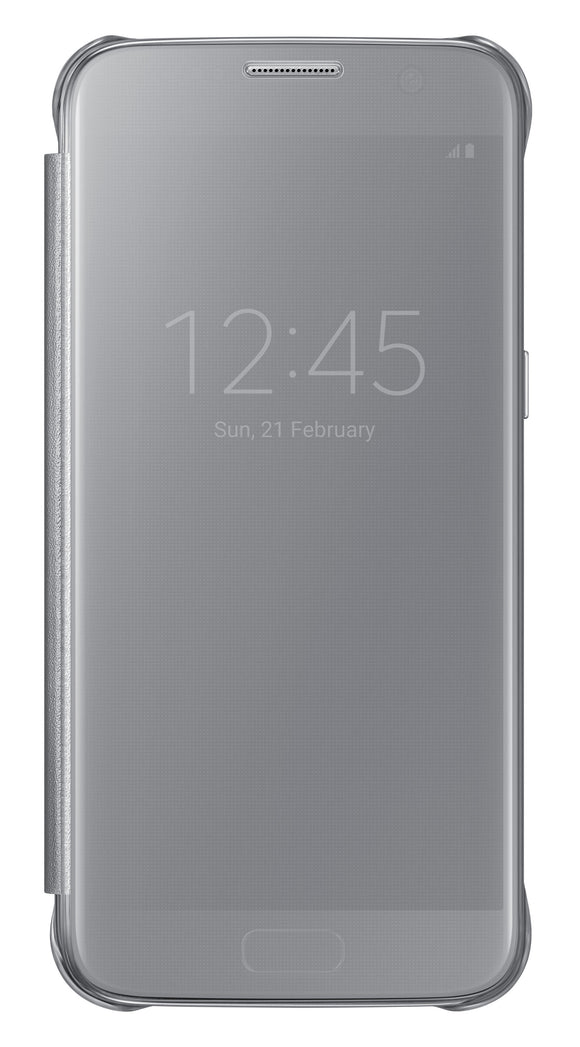 Clear View Cover GS7 Silver - Unwired Solutions Inc