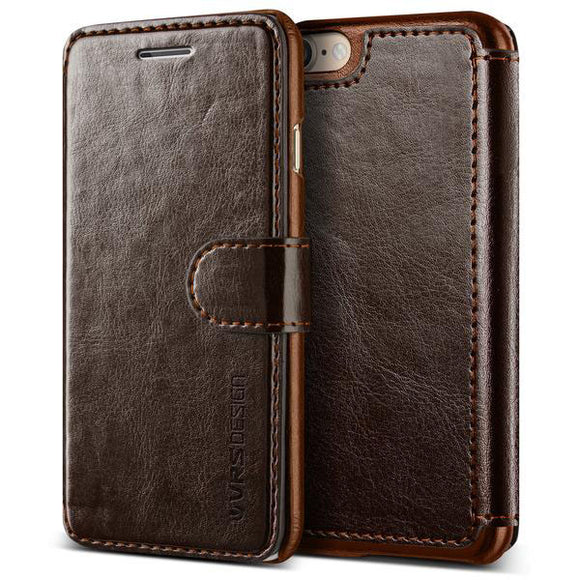 Layered Dandy iPhone 8/7 Coffee Brown