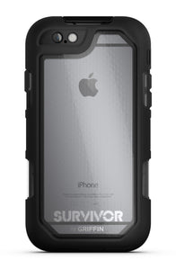Survivor Summit iPhone 6/6S Plus Black/Clear - Unwired Solutions Inc