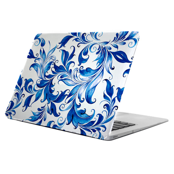 Clear Deflector MacBook 12'' Delft Swirl - Unwired Solutions Inc