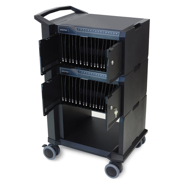 Tablet Management Cart (32) w/ ISI Black
