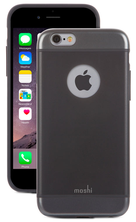 iGlaze Armour iPhone 6/6s Gunmetal Gray - Unwired