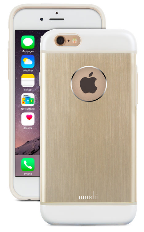 iGlaze Armour iPhone 6/6s Gold - Unwired Solutions Inc