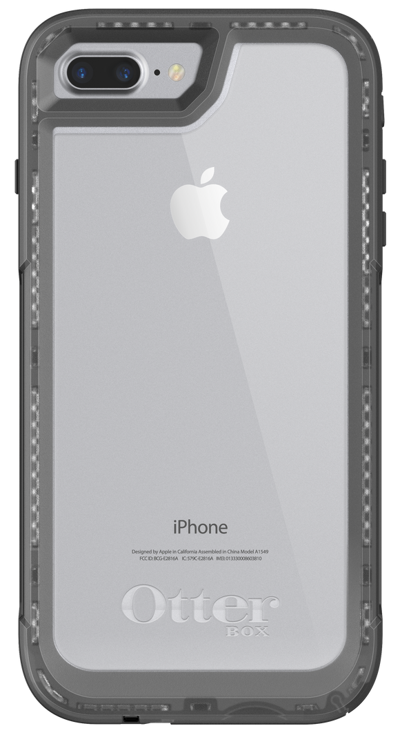 Pursuit iPhone 8/7 Black/Clear - Unwired Solutions Inc