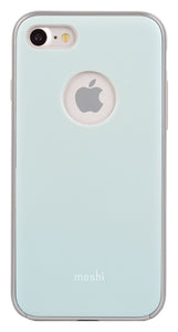 iGlaze iPhone 8/7 Blue - Unwired Solutions Inc
