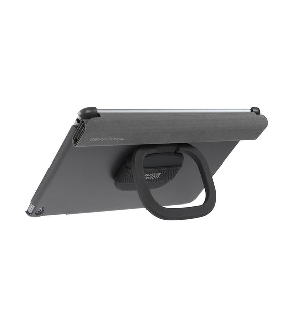 Gripster Wrap Case+Stand iPad Air 2 Grey - Unwired Solutions Inc