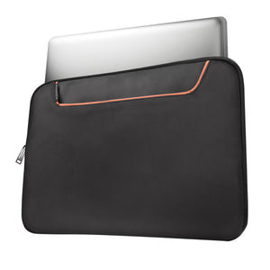 Commute 18.4in Laptop Sleeve w/Memory Foam Black - Unwired Solutions Inc
