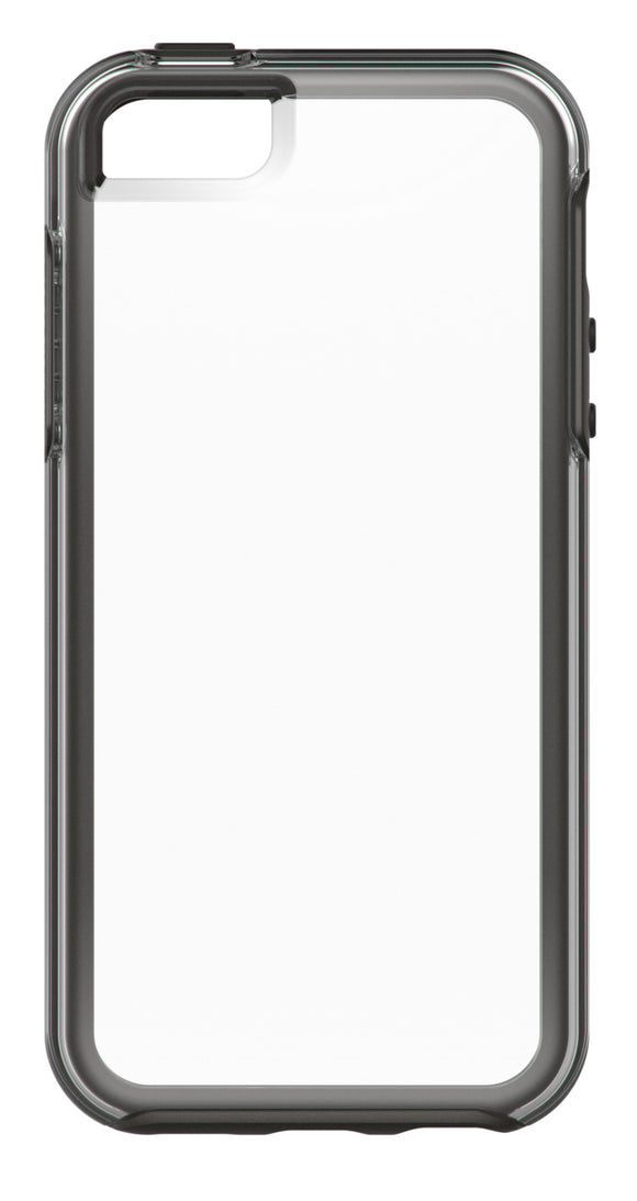 Symmetry Clear iPhone 5/5S/SE Clear/Black - Unwired Solutions Inc