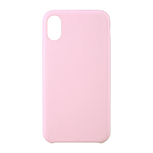 Velvet Touch Case iPhone X Pink - Unwired