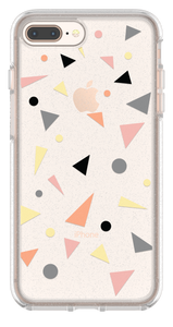 Symmetry Clear iPhone 8 Plus/7 Plus Confetti Pop - Unwired