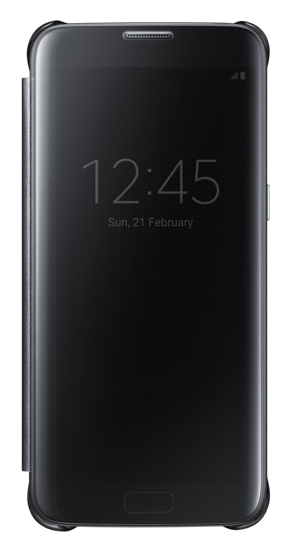 Clear View Cover GS7 Black - Unwired Solutions Inc