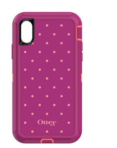 Defender iPhone X Coral Dot - Unwired