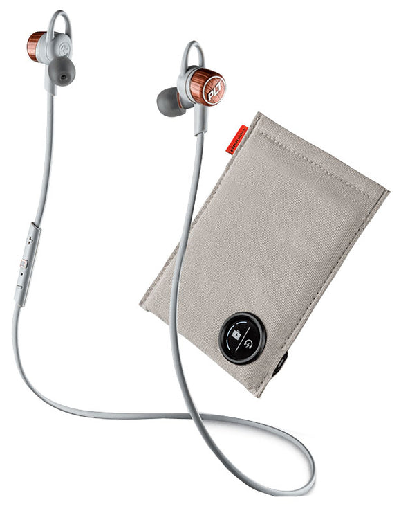 BackBeat GO 3 Headset + Charging Case Copper Grey