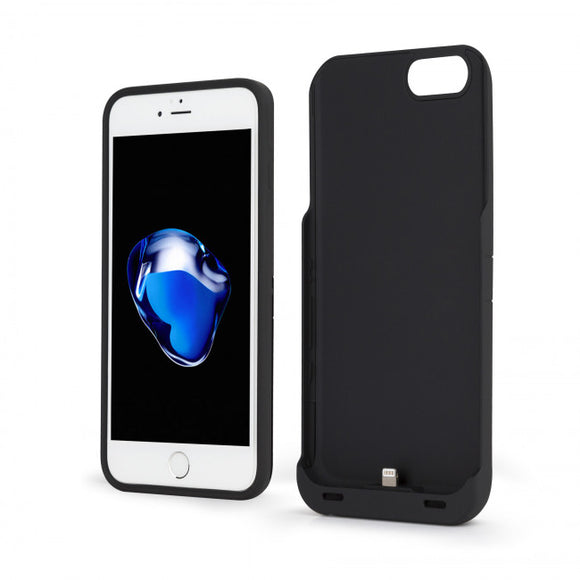 Energi Sliding Power Case iPhone 8/7/6S/6 Black - Unwired Solutions Inc